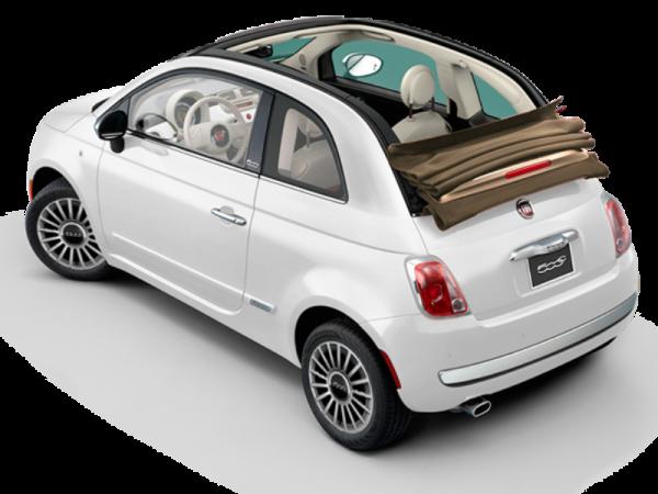 Fiat 500 Cabrio Automatic 3