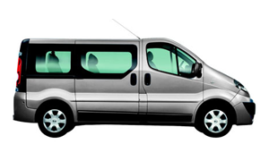 Nissan Primastar 9 seater Long 2