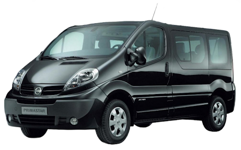 Nissan Primastar 9 seater Long 1
