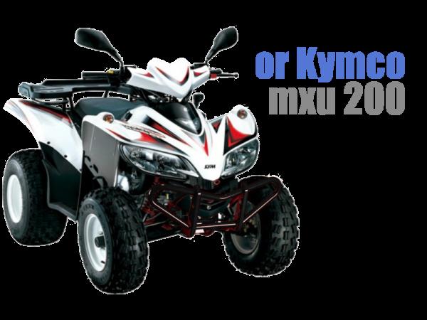 Sym quadlander 200cc